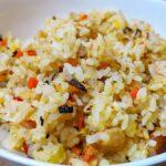 ふわパラチャーハンの裏技|チャーハンのお米の下処理は意外や意外、お米を洗うんです!